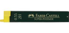 Feinmine SuperPolymer 2H 0.35 FABER CASTELL 120312 12St Produktbild