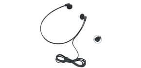 Kopfhörer de Luxe schwarz WMC 24600 Produktbild