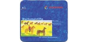 Wachsmalstift 8ST ungiftig WF STOCKMAR 31000 o.Hülse Bienenwachs Produktbild