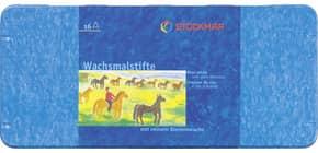 Wachsmalstift 16ST ungiftig WF STOCKMAR 32000 o.Hülse Bienenwachs Produktbild