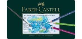 Farbstiftetui Aquarell 36ST Dürer FABER CASTELL 117536 Metalletui Produktbild