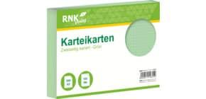 Karteikarte A5 kariert grün RNK 114855 100ST Produktbild