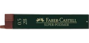Feinmine SuperPolymer 2B 0,5 FABER CASTELL 120502 12 Stück Produktbild