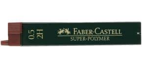 Feinmine SuperPolymer 2H 0.5 FABER CASTELL 120512 12St Produktbild