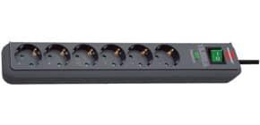 Verteilersteckdose 6-fach schwarz BRENNENSTUHL 1159710 Schutzscha Produktbild