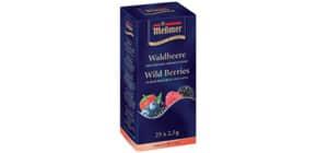 Früchtetee Waldbeere 25 Beutel MESSMER 765922 Produktbild
