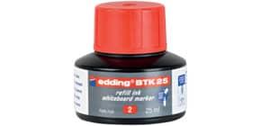 Nachfülltusche 25ml rot EDDING BTK25002 Produktbild