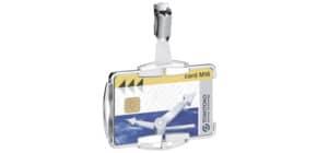 Kartenhalter RFID 10ST MONO silber DURABLE 890123 SECURE Produktbild
