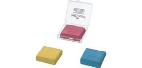 Radierer Knetgummi gelb+rot+blau FABER CASTELL 127321 Produktbild