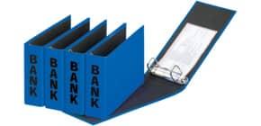 Bankordner 25x14cm blau PAGNA 40801-06 Basic Colours Produktbild