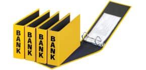 Bankordner 25x14cm gelb PAGNA 40801-04 Basic Colours Produktbild