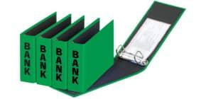 Bankordner 25x14cm grün PAGNA 40801-05 Basic Colours Produktbild