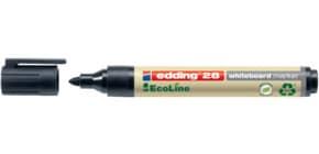 Whiteboardmarker EcoLine schwarz EDDING 28001 Produktbild
