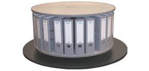 Ordnerdrehsäule 1 Etage grau RT081B1 Tisch.81cm Produktbild