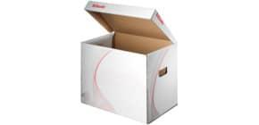 Archivcontainer m. Klappdeckel A4 ESSELTE 128911 weiß Produktbild