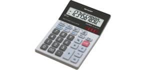 Tischrechner 10-stell.glastop 100x151x33 SHARP ELM711E/ELM711G-GY Produktbild