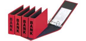Bankordner 25x14cm  rot PAGNA 40801-03 Basic Colours Produktbild