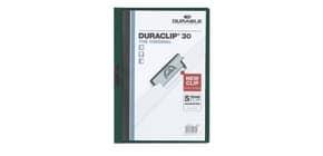 Klemmmappe Duraclip A4 petrol DURABLE 2200 32 30BL Produktbild