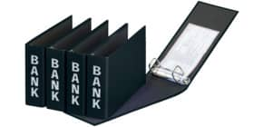 Bankordner 25x14cm schwarz PAGNA 40801-01 Basic Colours Produktbild