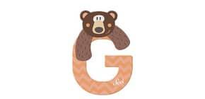 Tierbuchstaben 10cm Grizzlybär TRUDI SEVI 83007/81607 Produktbild