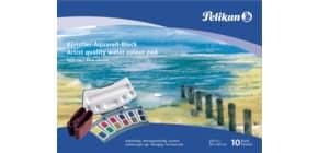 Aquarellblock 24x34cm 250g/qm PELIKAN 251025 FR4/10 Produktbild