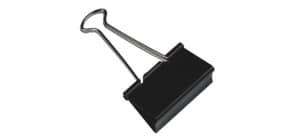 Foldbackklammer 51mm 10ST schwarz Q-CONNECT KF01286 Produktbild