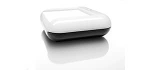 Haftnotizbox 110x40x110 schwarz/weiß SIGEL SA102 Eye Style Kunststoff Produktbild