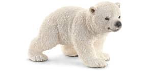 Spielzeugfigur Eisbärjunges laufend SCHLEICH 14708 Produktbild