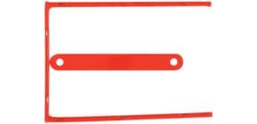 Aktenbinder D-Clip 8cm rot Q-CONNECT KF02281 100ST Produktbild