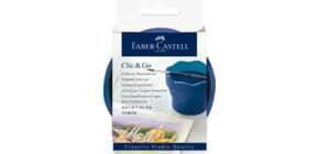 Wasserbecher Clic&Go blau Creativ FABER CASTELL 181540 Produktbild
