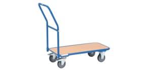 Schiebegriffwagen Stahl blau FETRA 1200 Produktbild