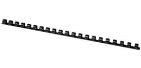 Spiralbinderücken 10mm 21R schwarz Q-CONNECT KF24020 100ST Produktbild