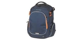 Schulrucksack Wizzard d.blue melange WALKER 42114/178 Campus Produktbild
