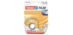 Doppelklebefilm 7,5mx12mm transparent TESA 57912-00000-01 mit Abroller Produktbild