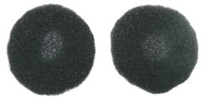 Ohrmuschel 2ST schwarz WMC 24211 Produktbild