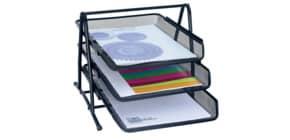 Briefablageset schwarz WEDO 65801 OFFICE Produktbild