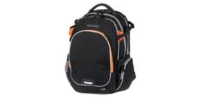 Schulrucksack Wizzard black melange WALKER 42114/180 Campus Produktbild