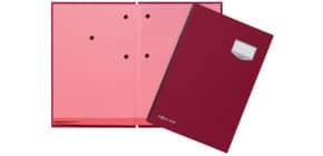 Unterschriftsmappe 20 -teilig rot PAGNA 24201-01 Leinen kaschiert Produktbild
