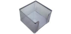 Zettelbox Metall silber Q-CONNECT KF00881 Produktbild