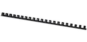 Spiralbinderücken 12mm 21R schwarz Q-CONNECT KF24022 100ST Produktbild