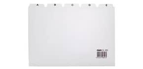 Leitregister A5 quer A-Z grau HAN 985 25tlg Produktbild