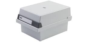 Karteikasten A5 quer lichtgrau HAN 965-11 für 800 Karten Produktbild