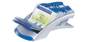 Visitenkartenständer silber DURABLE 2413 23 VISIFIX DESK Produktbild