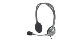 Kopfhörer H110 Stereo schwarz LOGITECH 981-000271 3,5mm Produktbild