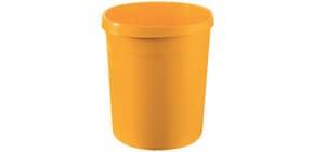 Papierkorb 18l Grip gelb HAN 18190-15 Produktbild