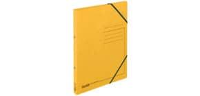 Schulordner A4 Pappe gelb FALKEN 11287315 Produktbild