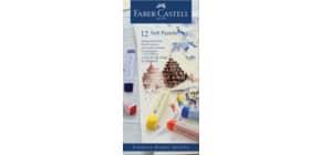Pastellkreide Goldfaber sortiert FABER CASTELL 128312 Kartonetui 12 Stück Produktbild