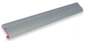 Lineal ALU 30cm WEDO 525331 mit Rutschbremse Produktbild