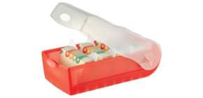 Lernkartei Croco A8 transl.rot HAN 998-617 für 500 Karten Produktbild