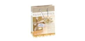 Weihn.Geschenktragetasche 17x23x9cm SIGEL GT017 Small Golden Shimmer Produktbild